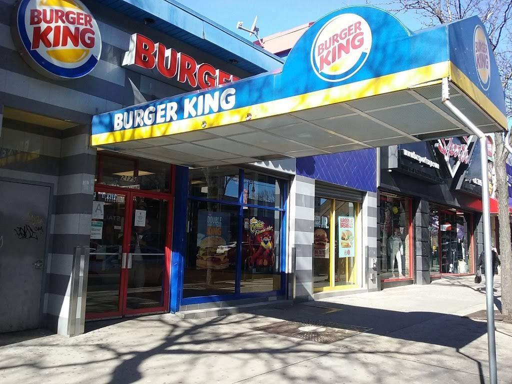 Burger King | restaurant | 2179 White Plains Rd, Bronx, NY 10462, USA | 3474914083 OR +1 347-491-4083