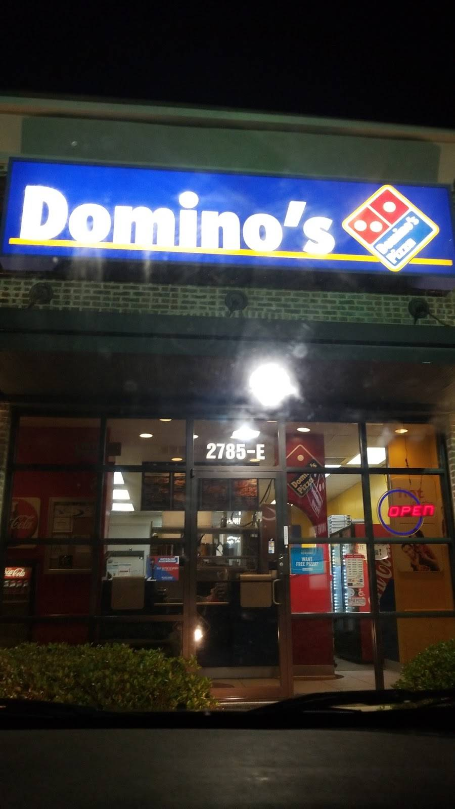 Dominos Pizza   meal delivery   2785 Highway 49 S, Ste E, Florence, MS 39073, USA   6018455030 OR +1 601-845-5030