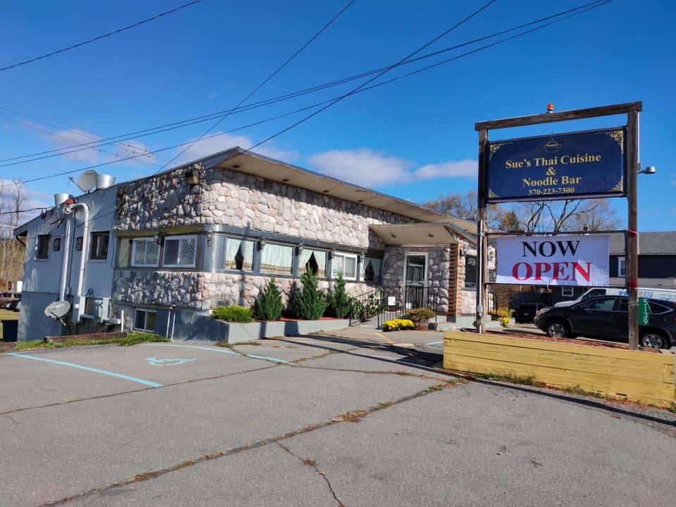 Sue's Thai Cuisine & Noodle Bar | restaurant | 5139 Milford Rd, East Stroudsburg, PA 18302, USA | 5702237300 OR +1 570-223-7300