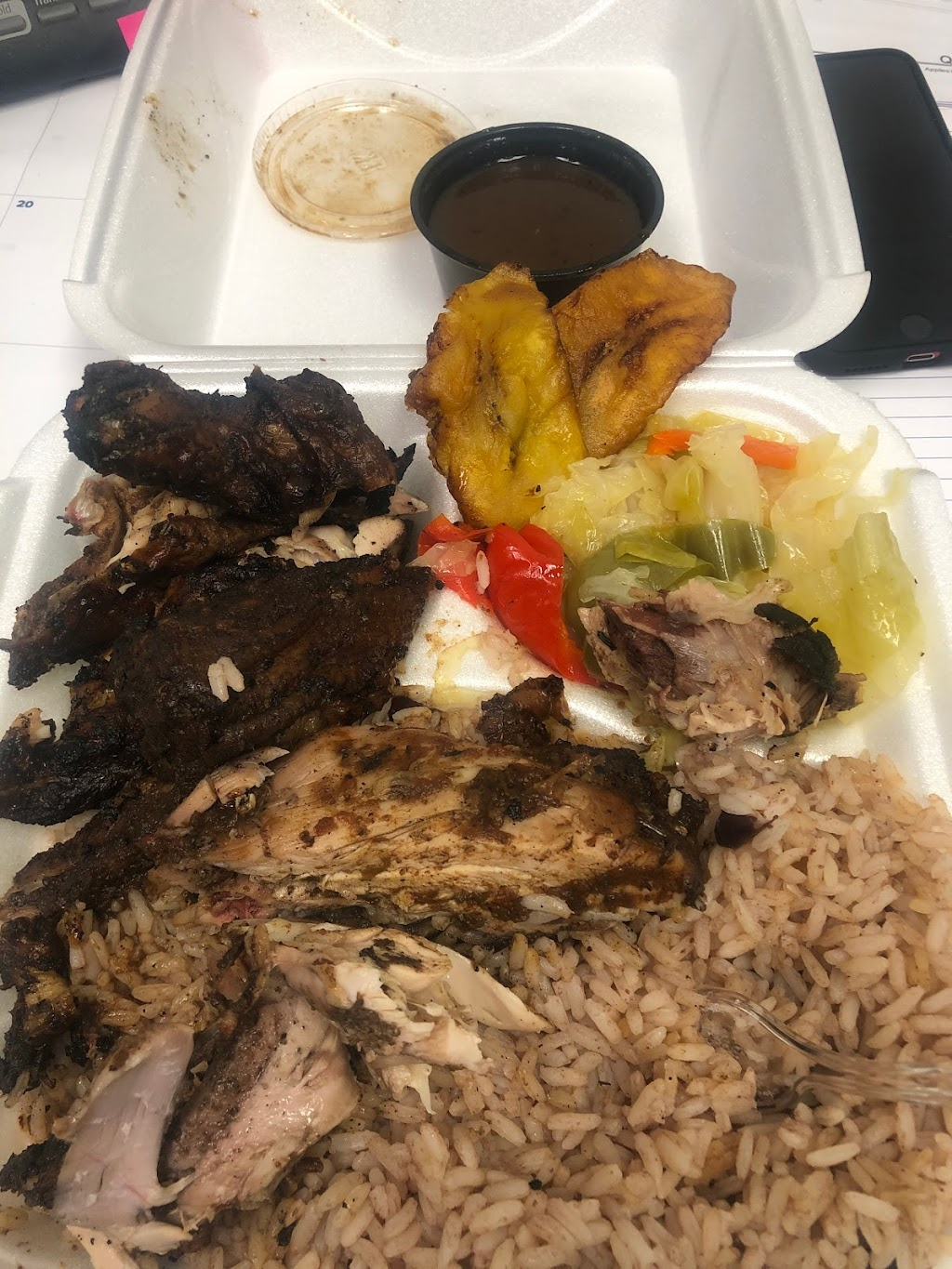 Kings and Queens Jamaican Kitchen   restaurant   1119 S 108th St, West Allis, WI 53214, USA   4147553311 OR +1 414-755-3311