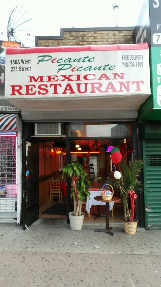 Picante Picante   restaurant   156 W 231st St, Bronx, NY 10463, USA   7187087100 OR +1 718-708-7100