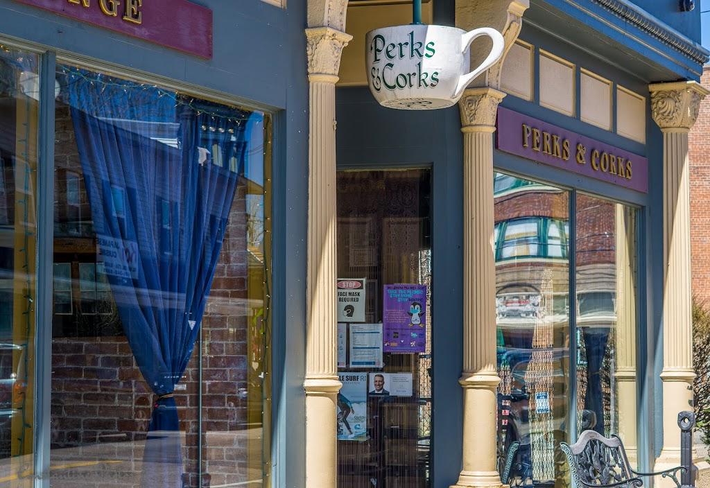 Perks & Corks | restaurant | 62 High St, Westerly, RI 02891, USA | 4015961260 OR +1 401-596-1260