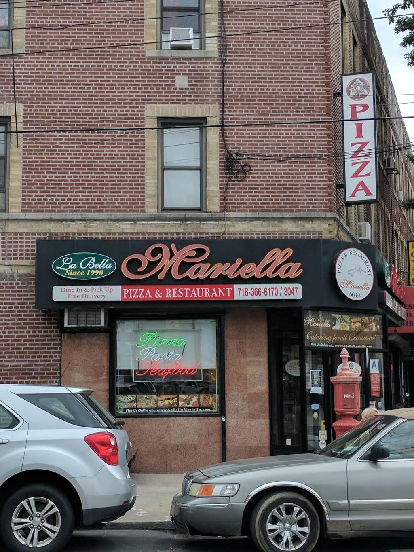La Bella Mariella   restaurant   3579, 6061 Fresh Pond Rd, Flushing, NY 11378, USA   7183666170 OR +1 718-366-6170