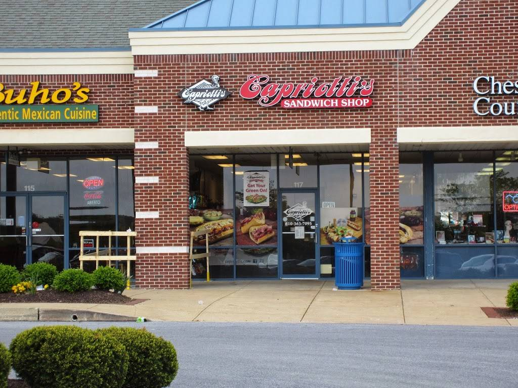 Capriottis Sandwich Shop   restaurant   117 Swedesford Rd, Exton, PA 19341, USA   6103637095 OR +1 610-363-7095