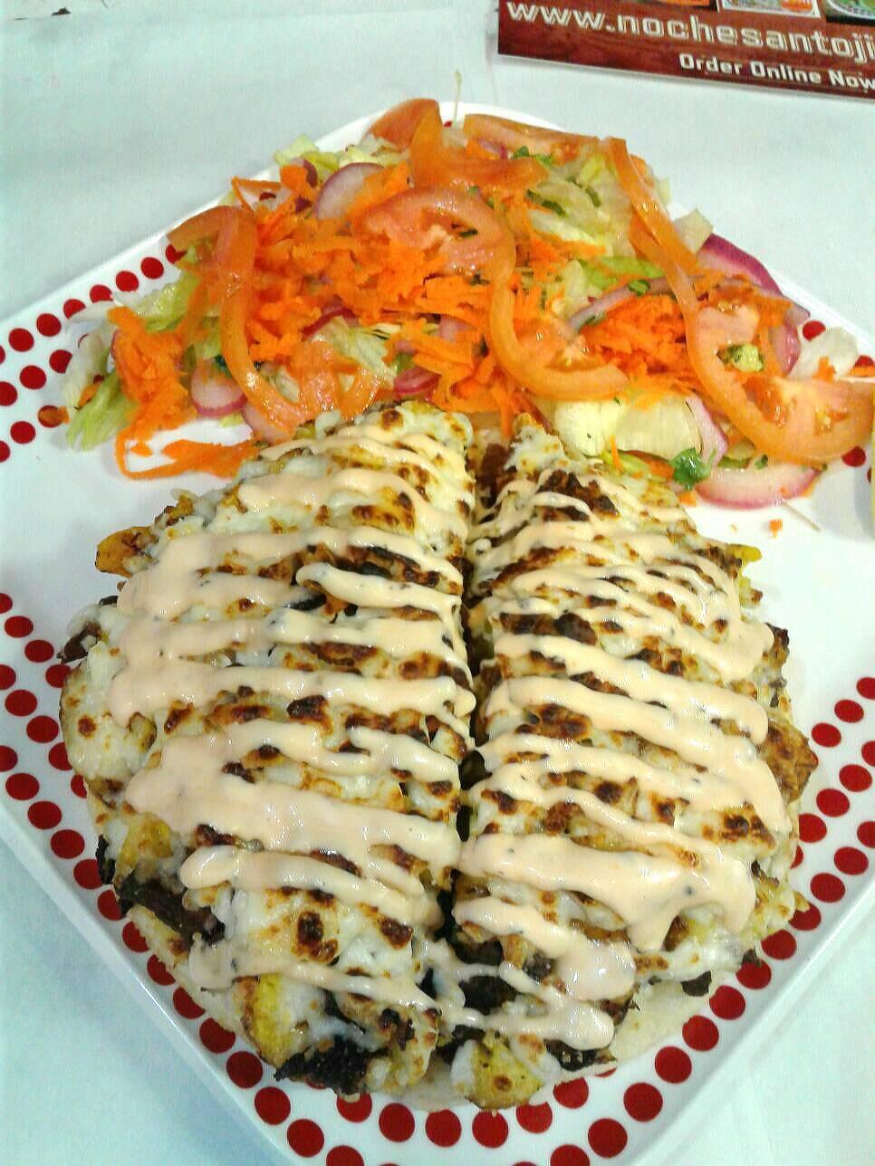 Noches Antojitos | restaurant | 7523 Bergenline Ave, North Bergen, NJ 07047, USA | 2012958594 OR +1 201-295-8594