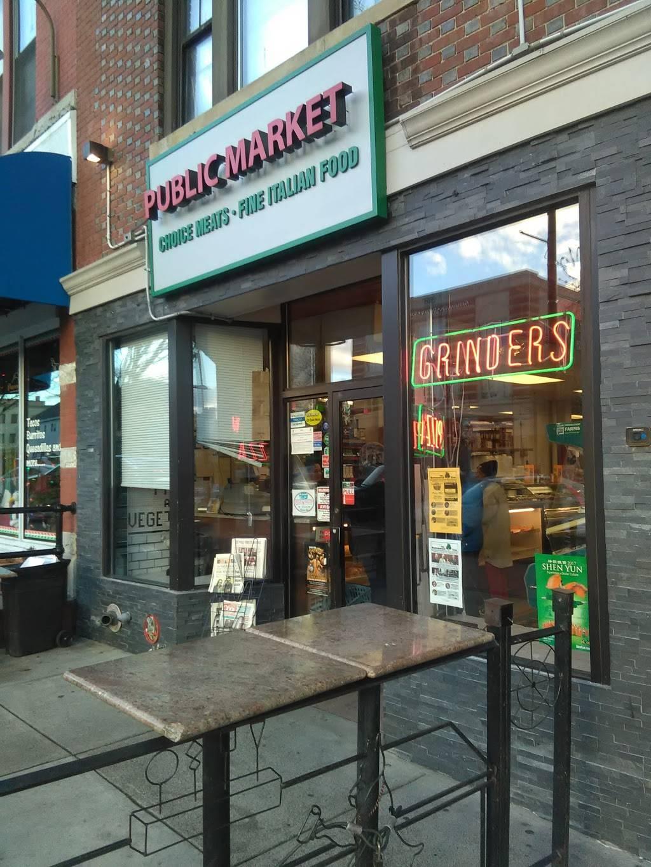 Public Market | restaurant | 480 Main St, Middletown, CT 06457, USA | 8603463340 OR +1 860-346-3340