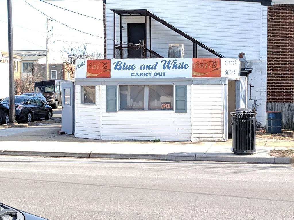Blue And White Carry Out Meal Takeaway 1024 Wythe St Alexandria Va 22314 Usa