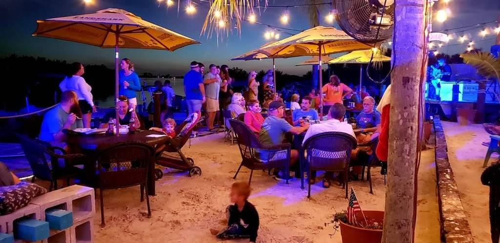 The Backyard at Skip's Marina - Restaurant   1990 Placida ...