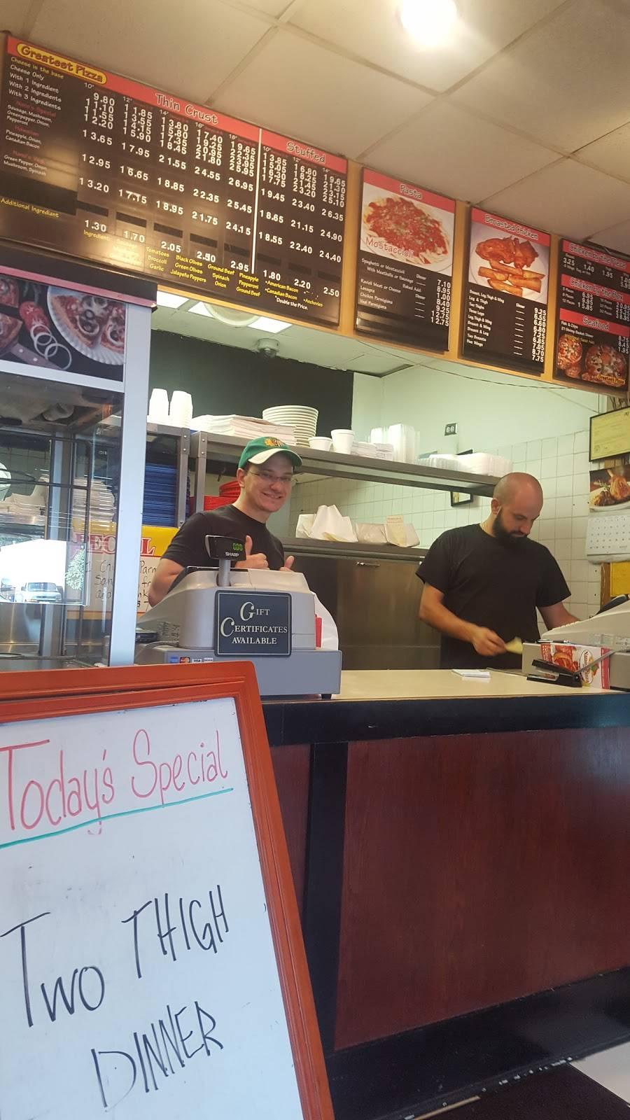Nanos Pizza | meal delivery | 5906 Lincoln Ave, Morton Grove, IL 60053, USA | 8479679700 OR +1 847-967-9700