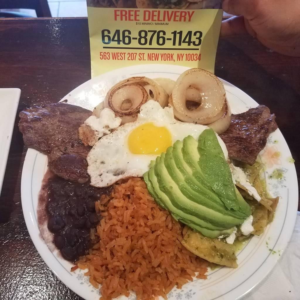Taqueria Emilio   restaurant   563 W 207th St, New York, NY 10034, USA   6468761143 OR +1 646-876-1143