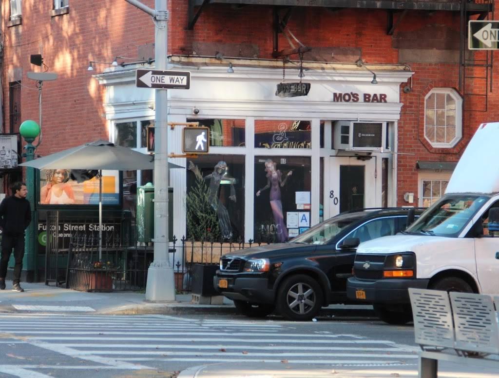 Mos Bar & Lounge | restaurant | 80 Lafayette Ave, Brooklyn, NY 11217, USA | 7187972849 OR +1 718-797-2849