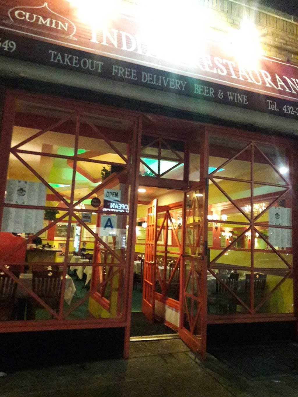 Cumin | restaurant | 3549 Johnson Ave, Bronx, NY 10463, USA | 7184322481 OR +1 718-432-2481