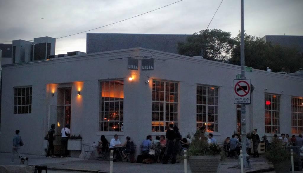 Lilia | restaurant | 567 Union Ave, Brooklyn, NY 11222, USA | 7185763095 OR +1 718-576-3095