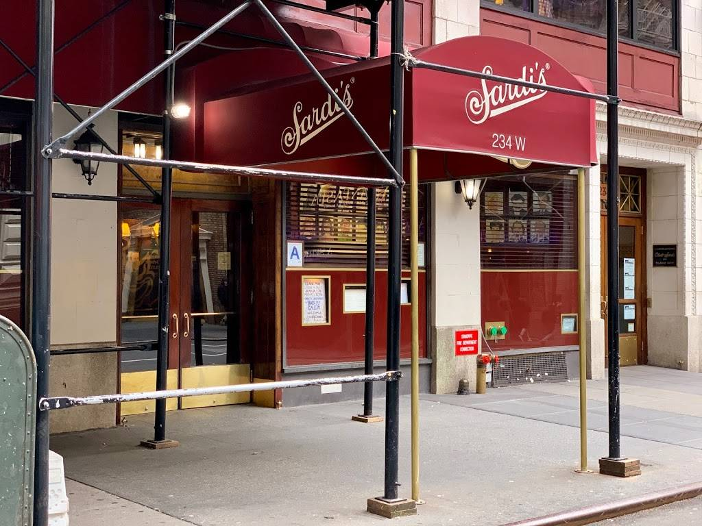 Sardis Restaurant | restaurant | 234 W 44th St, New York, NY 10036, USA