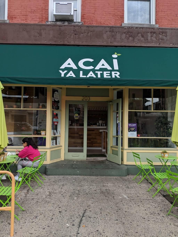 Acai Ya Later | restaurant | 203 Washington St, Hoboken, NJ 07030, USA | 2019146069 OR +1 201-914-6069