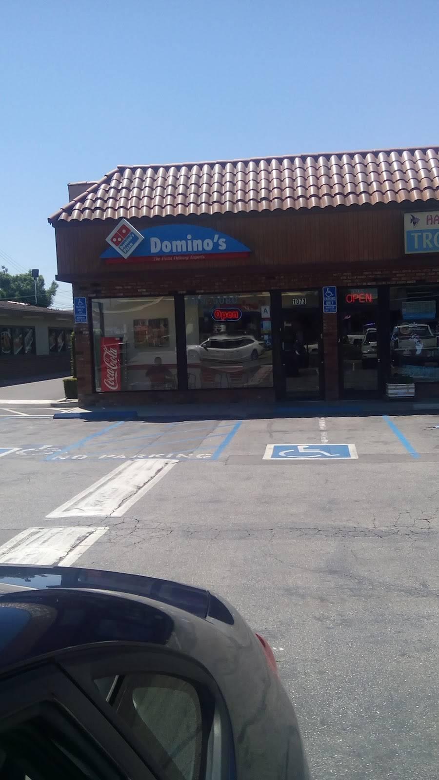 Dominos Pizza   meal delivery   1073 N Hacienda Blvd, La Puente, CA 91744, USA   6263695080 OR +1 626-369-5080
