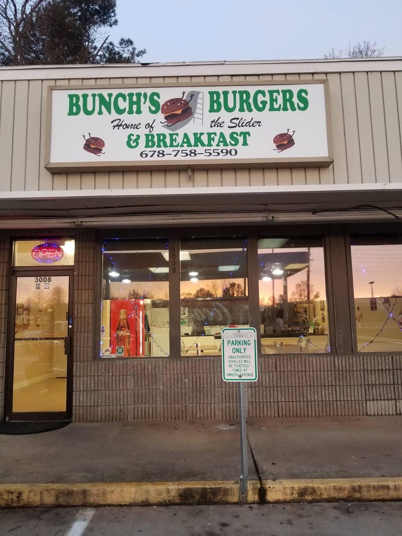 bunch's burgers & breakfast - restaurant | 3008 mcever rd