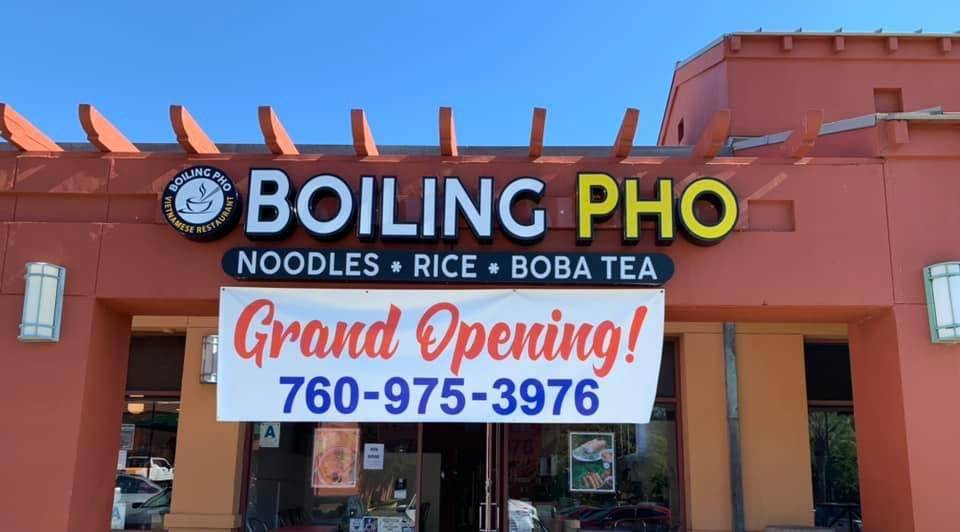 Boiling Pho | restaurant | 3440 Del Lago Blvd, Escondido, CA 92029, USA | 7609753976 OR +1 760-975-3976