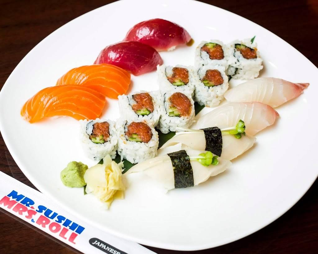 Mr.Sushi & Mrs.Roll | restaurant | 43930 Farmwell Hunt Plaza, Ashburn, VA 20147, USA | 7033385111 OR +1 703-338-5111