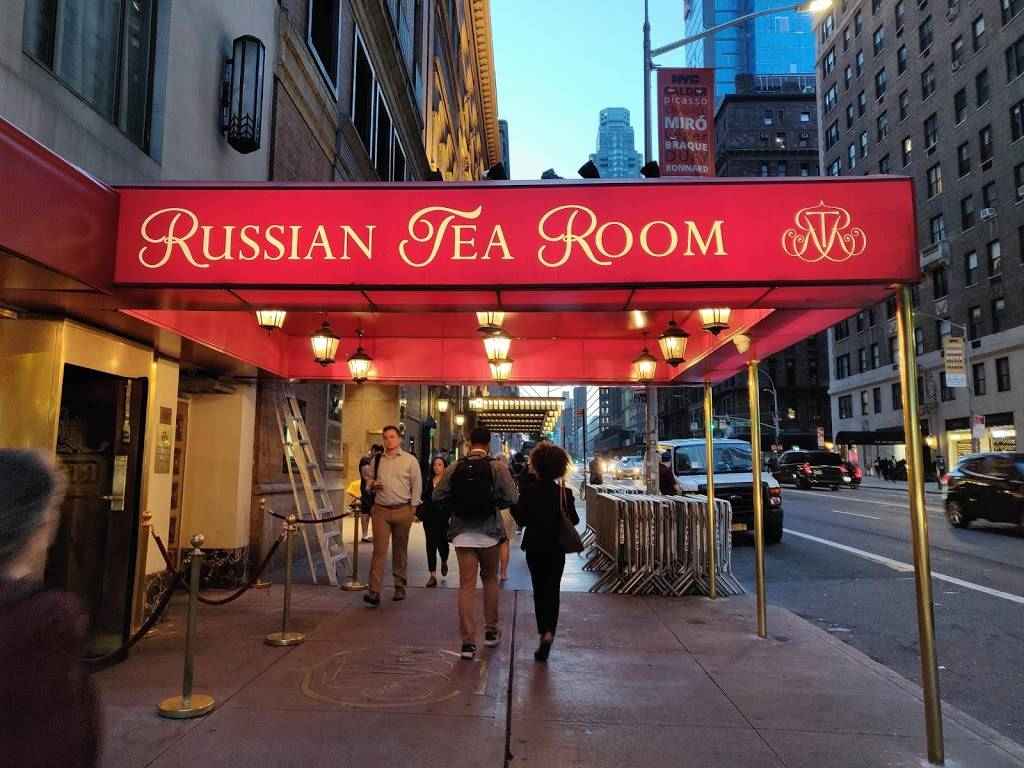 The Russian Tea Room | restaurant | 150 W 57th St, New York, NY 10019, USA | 2125817100 OR +1 212-581-7100