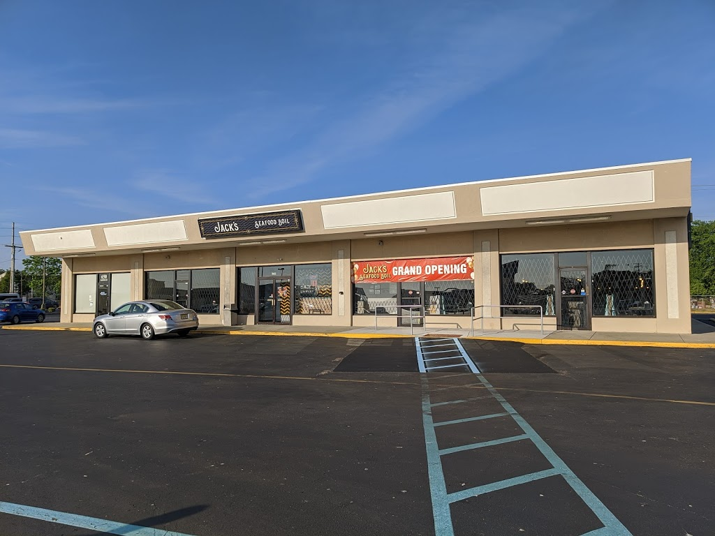 Jacks Seafood Boil   restaurant   630 E Black Horse Pike, Pleasantville, NJ 08232, USA   6092419999 OR +1 609-241-9999