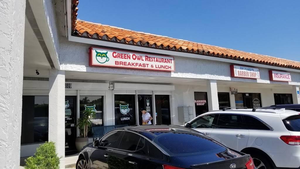 Green Owl Boynton Diner | cafe | 1889 Woolbright Rd, Boynton Beach, FL 33426, USA | 5617330869 OR +1 561-733-0869
