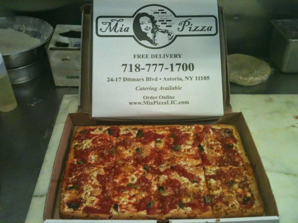 Mia Pizza   meal delivery   24-17 Ditmars Blvd, Astoria, NY 11105, USA   7187771700 OR +1 718-777-1700