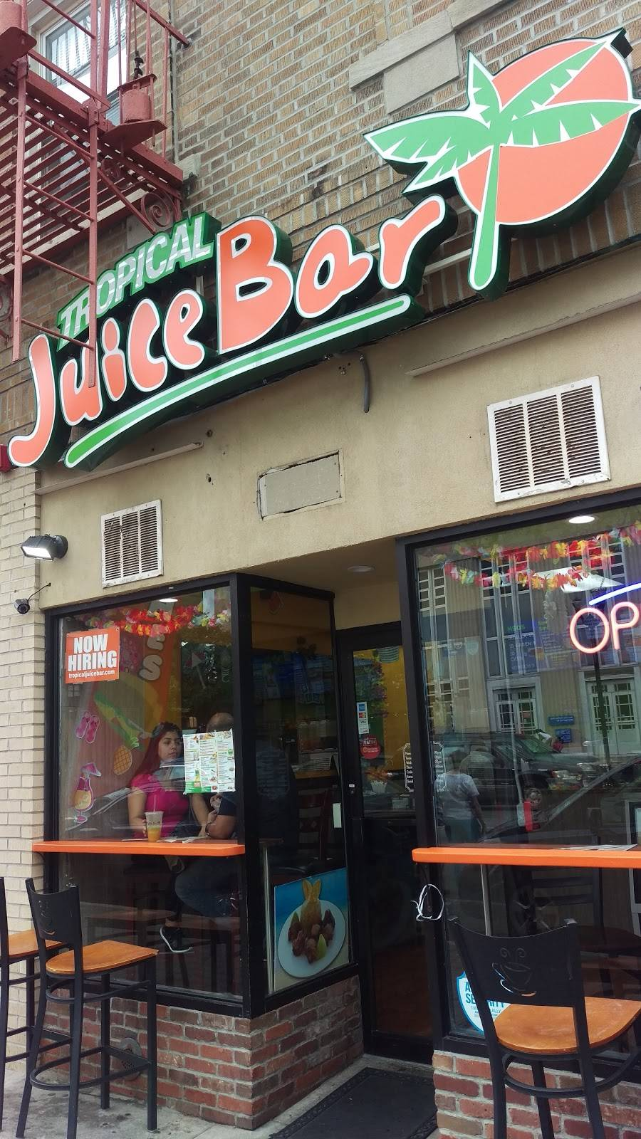 Tropical Juice Bar | restaurant | 5406 Bergenline Ave, West New York, NJ 07093, USA | 2012234400 OR +1 201-223-4400