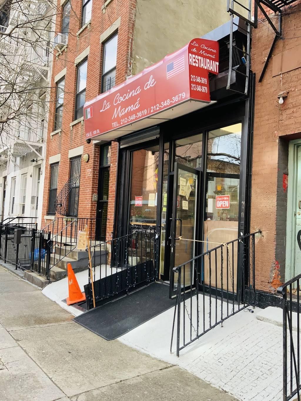 La cocina de mama | restaurant | 154 E 109th St, New York, NY 10029, USA | 2123483619 OR +1 212-348-3619