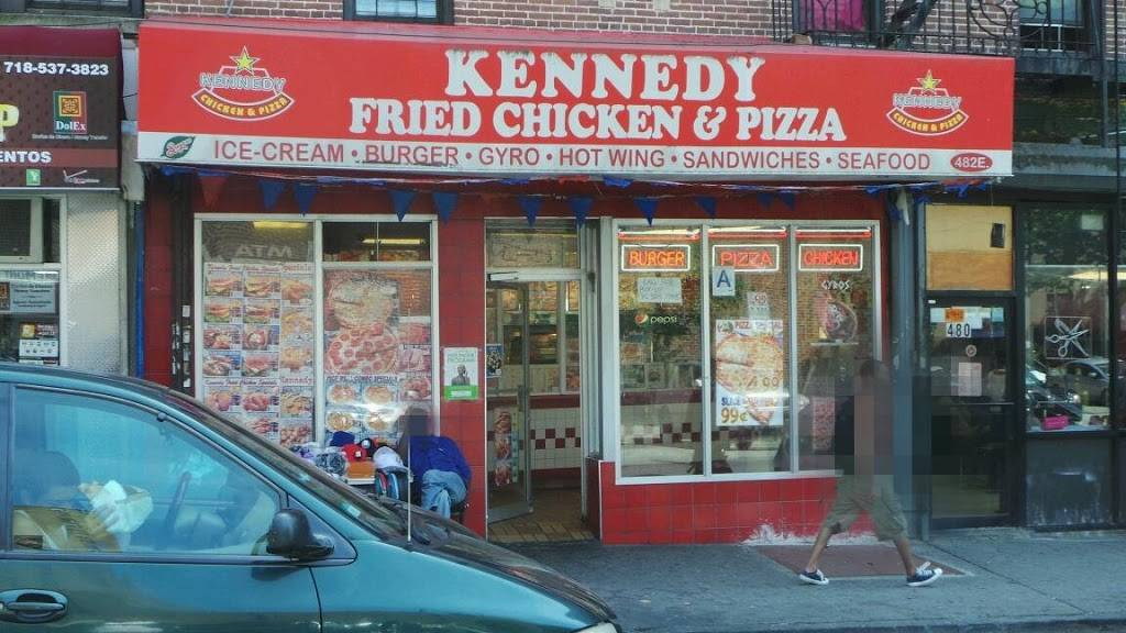 Kennedy Fried Chicken | restaurant | 638 E 169th St, Bronx, NY 10456, USA | 7188937904 OR +1 718-893-7904