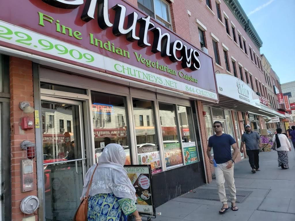 Chutneys | restaurant | 827 Newark Ave, Jersey City, NJ 07306, USA | 2012229909 OR +1 201-222-9909