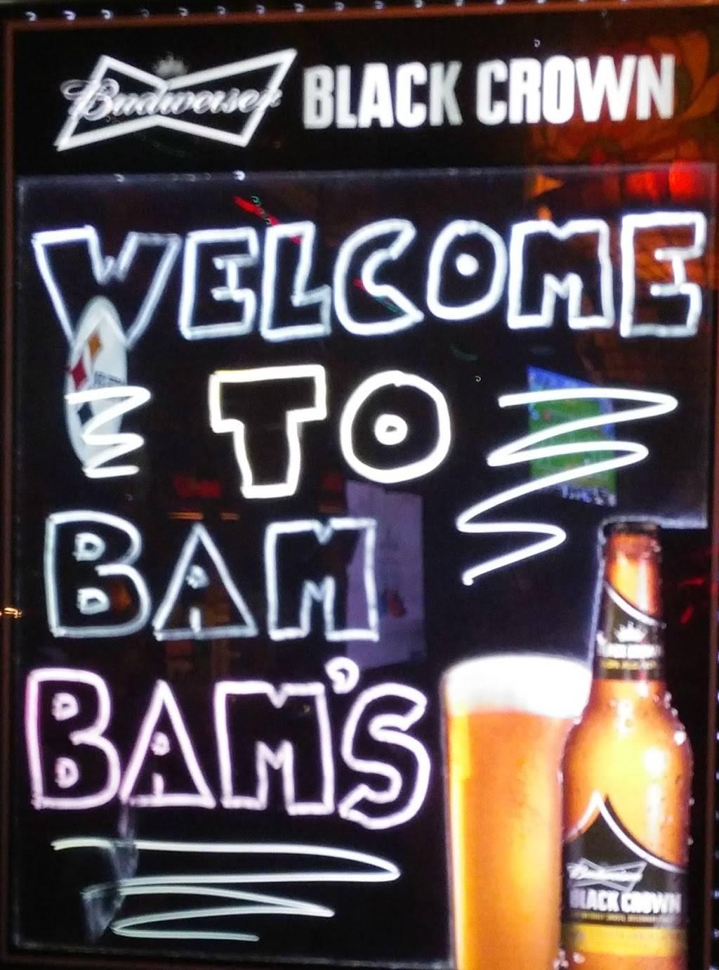 Bam Bams Bar & Grill   restaurant   725 E International Speedway Blvd, Daytona Beach, FL 32118, USA   3862813160 OR +1 386-281-3160