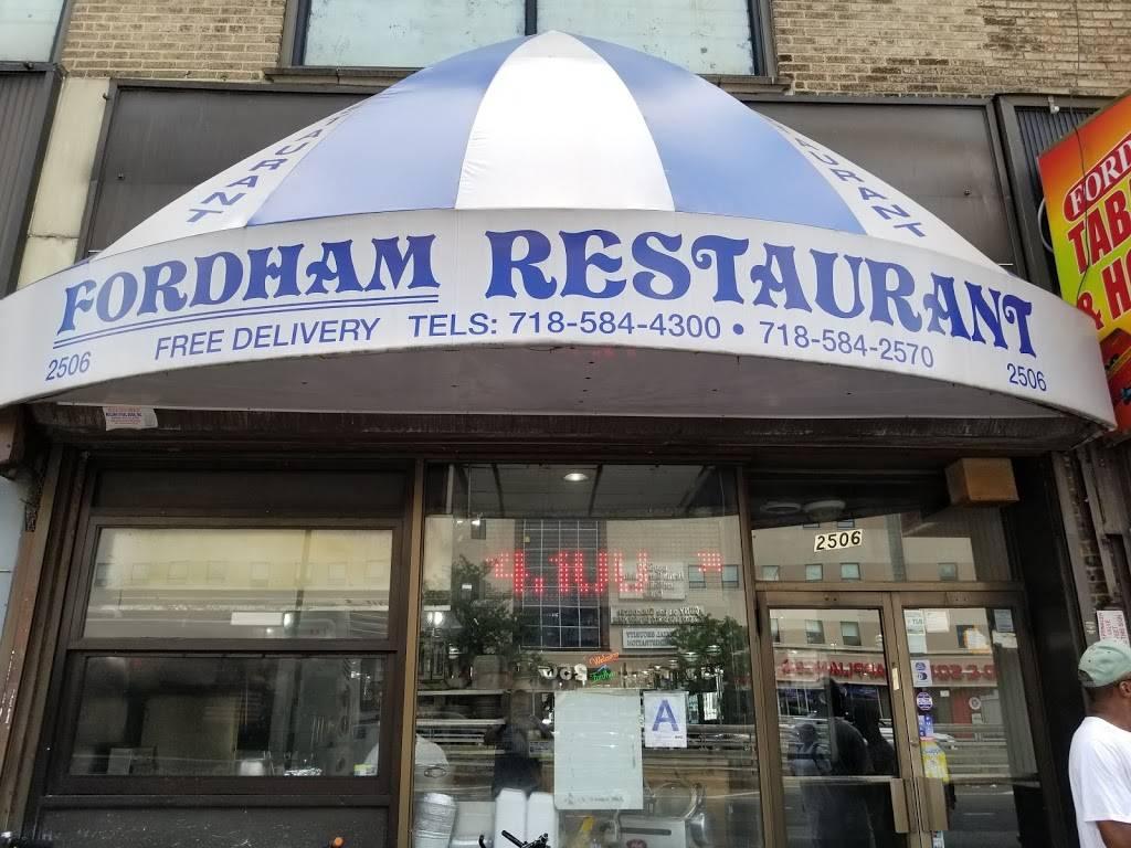 Fordham   restaurant   2506 Grand Concourse, Bronx, NY 10458, USA   7185844300 OR +1 718-584-4300