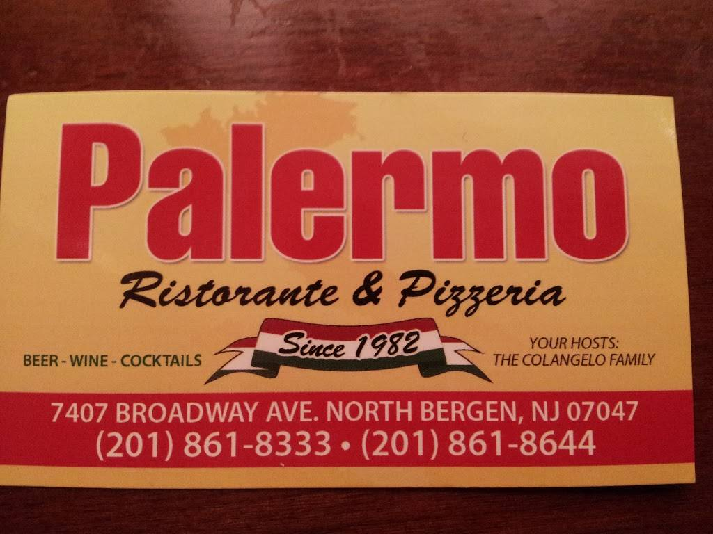 Palermo Pizza and Italian Restaurant | restaurant | 7407 Broadway, North Bergen, NJ 07047, USA | 2018618333 OR +1 201-861-8333