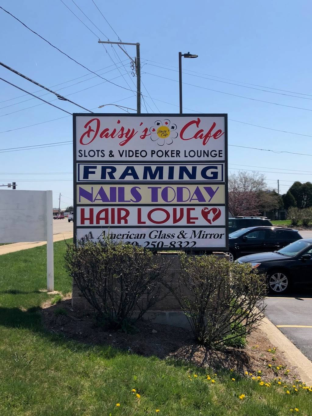 Daisy's Slots & Video Gaming Cafe | cafe | 1240 W Irving Park Rd, Itasca, IL 60143, USA | 8477736172 OR +1 847-773-6172