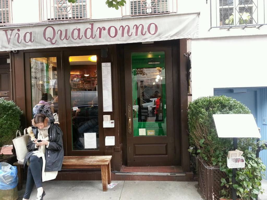 Via Quadronno | cafe | 25 E 73rd St, New York, NY 10021, USA | 2126509880 OR +1 212-650-9880