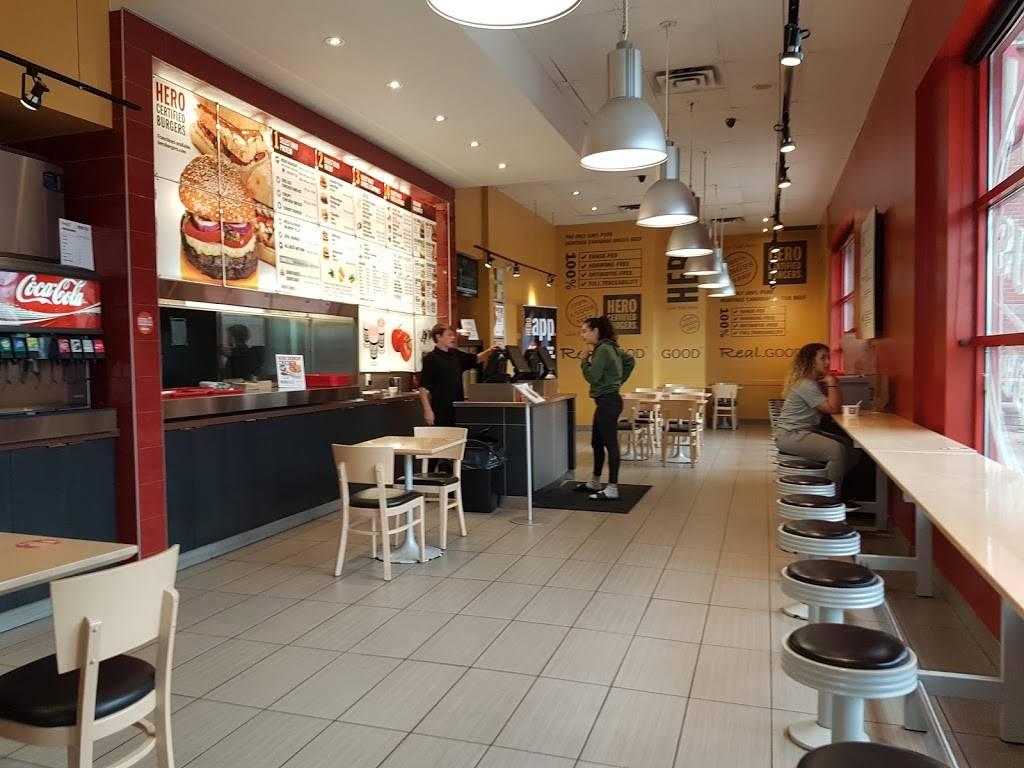 Hero Certified Burgers | restaurant | Iroquois Shopping Centre, 380 Dundas St E, Oakville, ON L6H 6Z9, Canada | 9052571788 OR +1 905-257-1788