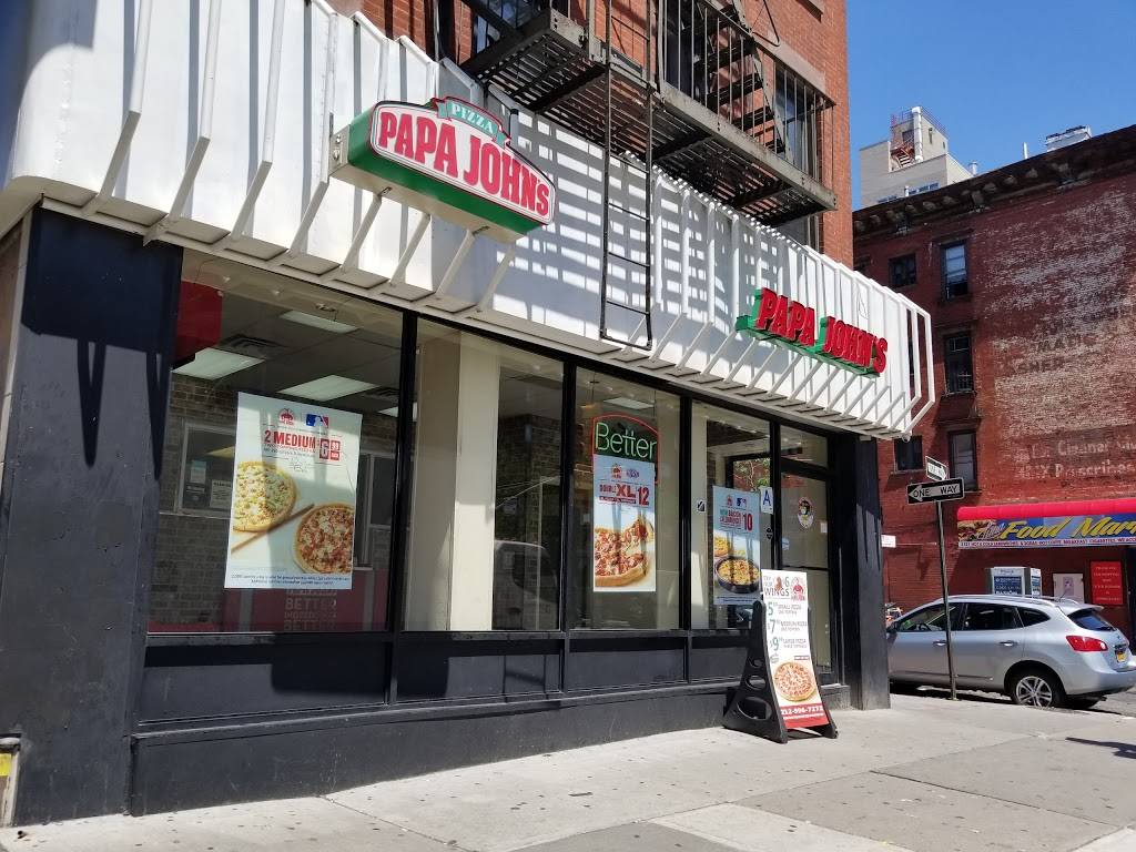 Papa Johns Pizza | restaurant | 2119 1st Avenue, New York, NY 10029, USA | 2129967272 OR +1 212-996-7272