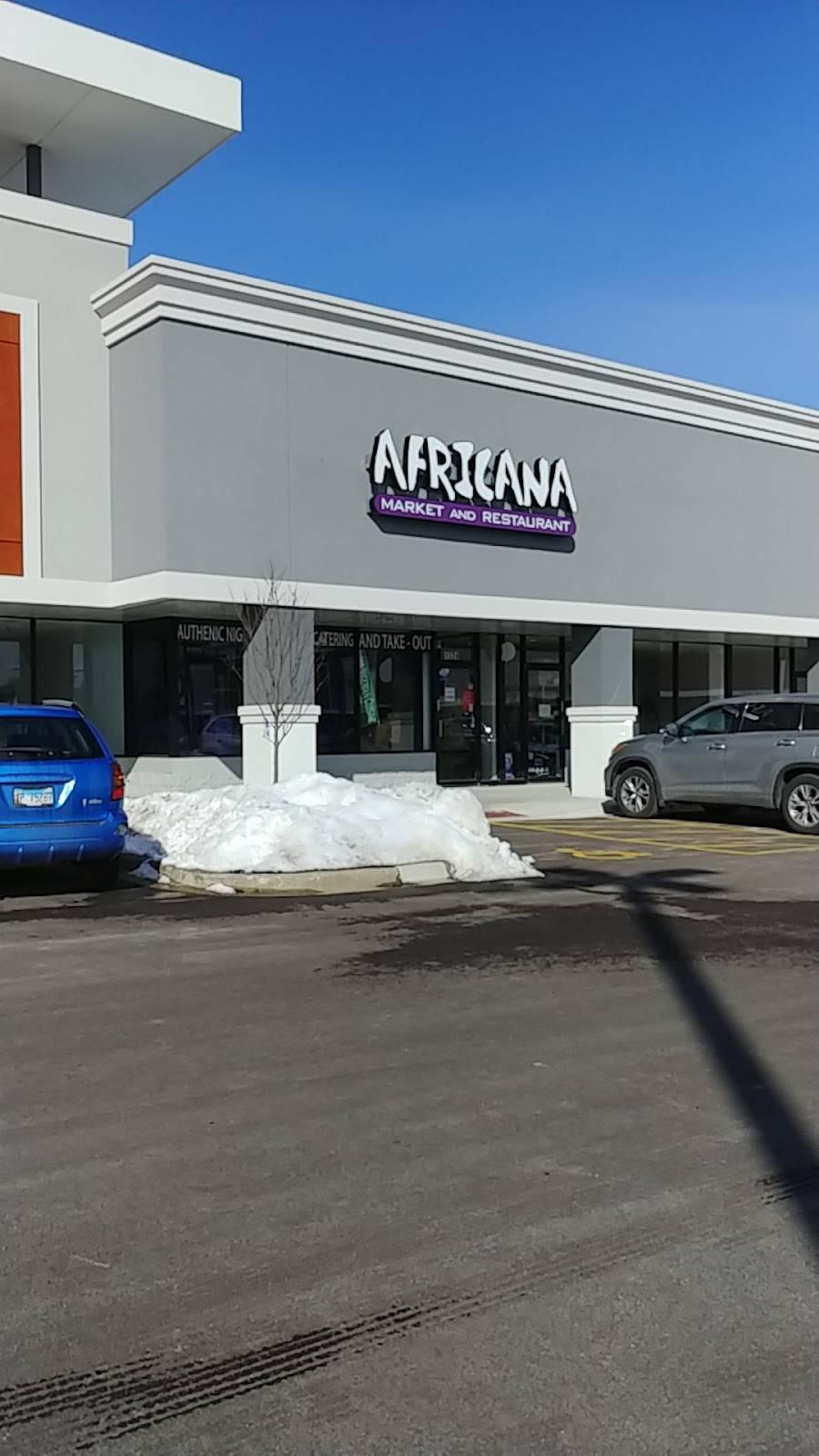 Africana market and restaurant | restaurant | 1324 E Algonquin Rd, Algonquin, IL 60102, USA | 2242098178 OR +1 224-209-8178