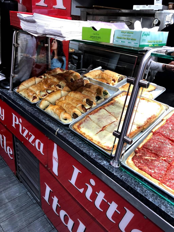 Little Italy Pizza   restaurant   50 Fulton St, New York, NY 10038, USA   2125717700 OR +1 212-571-7700