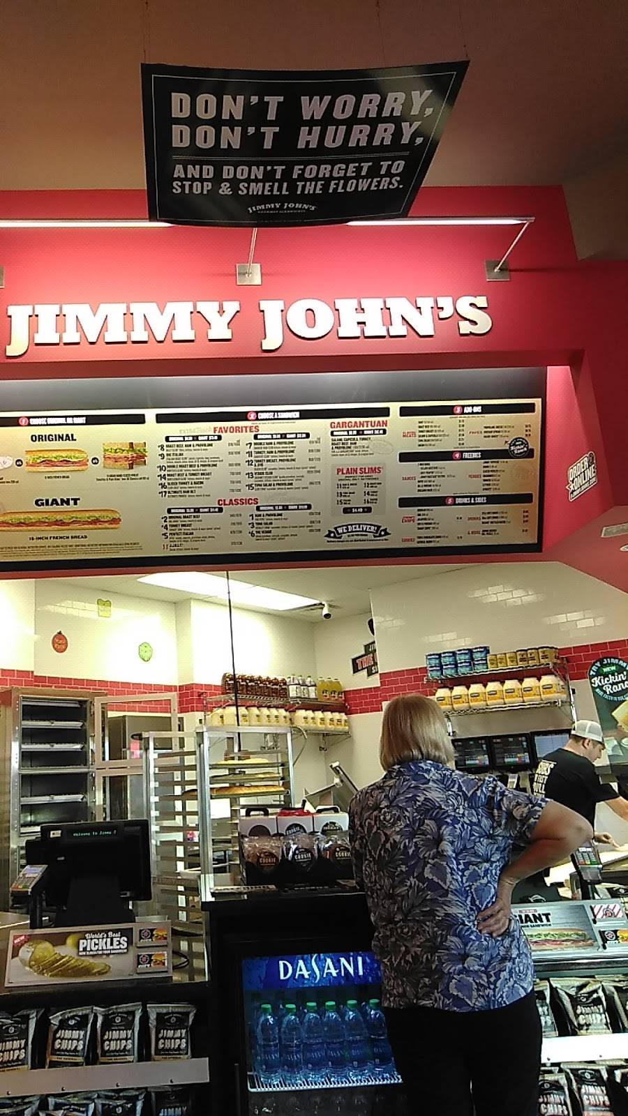 Jimmy Johns   meal delivery   40715 US Hwy 19 N, Tarpon Springs, FL 34689, USA   7279392244 OR +1 727-939-2244