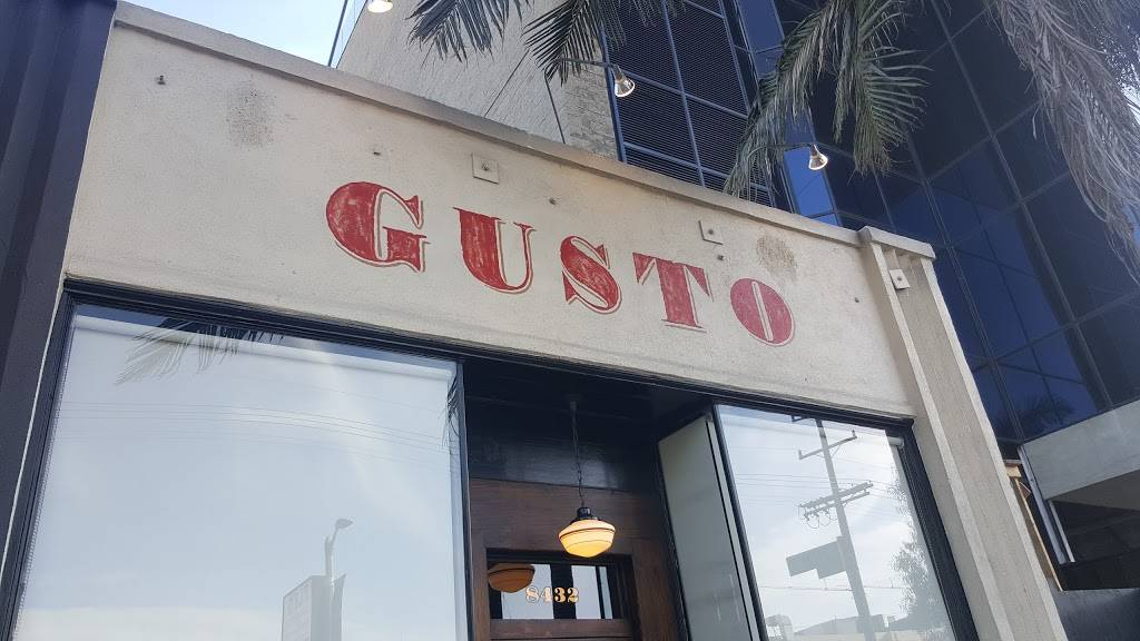 Gusto | restaurant | 8022 W 3rd St, Los Angeles, CA 90048, USA | 3239519800 OR +1 323-951-9800