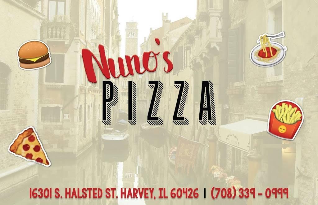 Nunos Pizza | restaurant | 16301 Halsted St, Harvey, IL 60426, USA | 7083390999 OR +1 708-339-0999