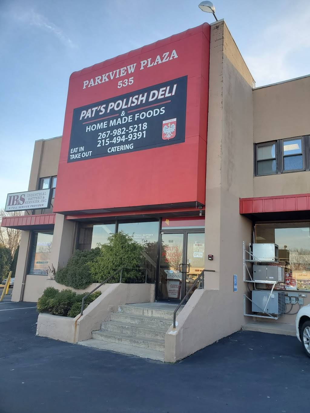 Pats Polish Deli   restaurant   535 Andrews Rd, Feasterville-Trevose, PA 19053, USA   2679825218 OR +1 267-982-5218