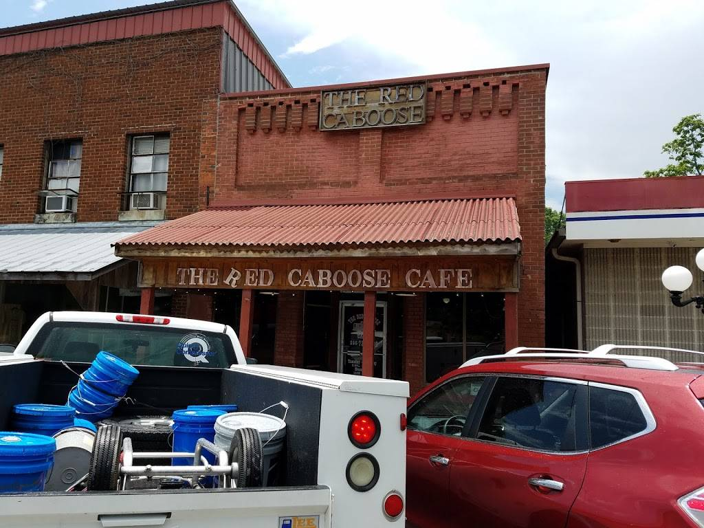 The Red Caboose Cafe | restaurant | 25483 Railroad St, Elkmont, AL 35620, USA | 2567327000 OR +1 256-732-7000