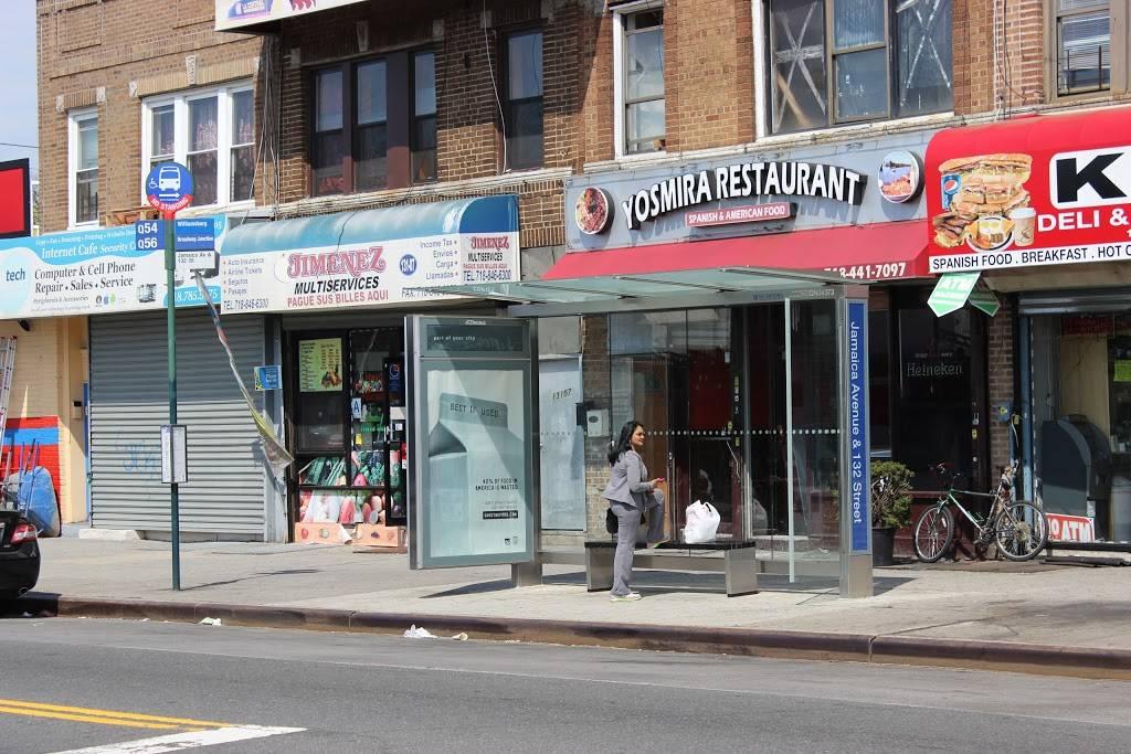 Yosmira   restaurant   131-09 Jamaica Ave, Jamaica, NY 11418, USA   9293350333 OR +1 929-335-0333