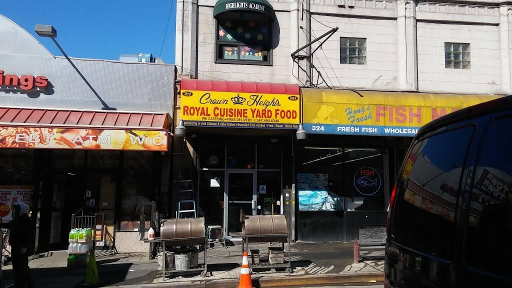 Royal Cuisine | restaurant | 324 Utica Ave, Brooklyn, NY 11213, USA | 3474046346 OR +1 347-404-6346
