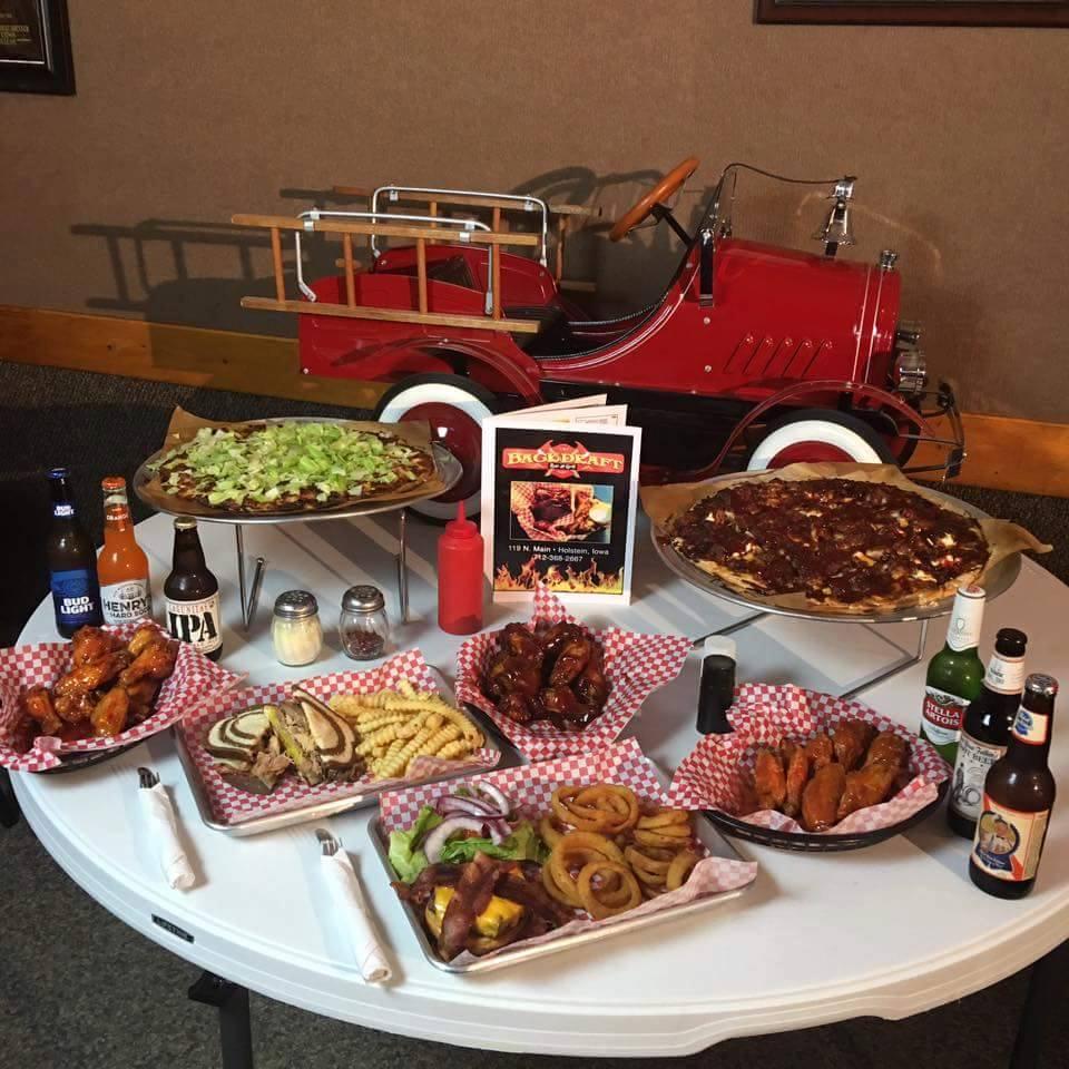 Backdraft Bar and Grill | restaurant | 119 N Main St, Holstein, IA 51025, USA | 7123682667 OR +1 712-368-2667