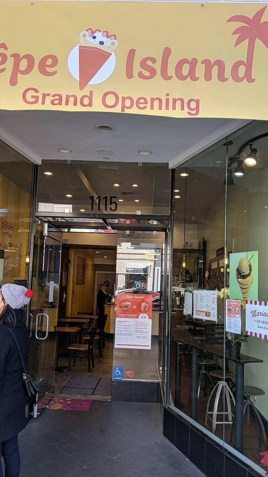 Crepe Island | restaurant | 1115 Burlingame Ave, Burlingame, CA 94010, USA