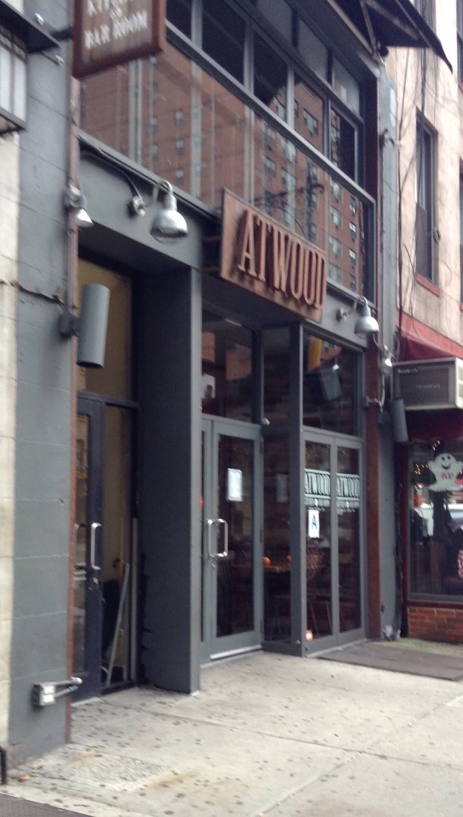 Atwood Bar & Lounge | restaurant | 986 2nd Ave, New York, NY 10022, USA | 2123712233 OR +1 212-371-2233